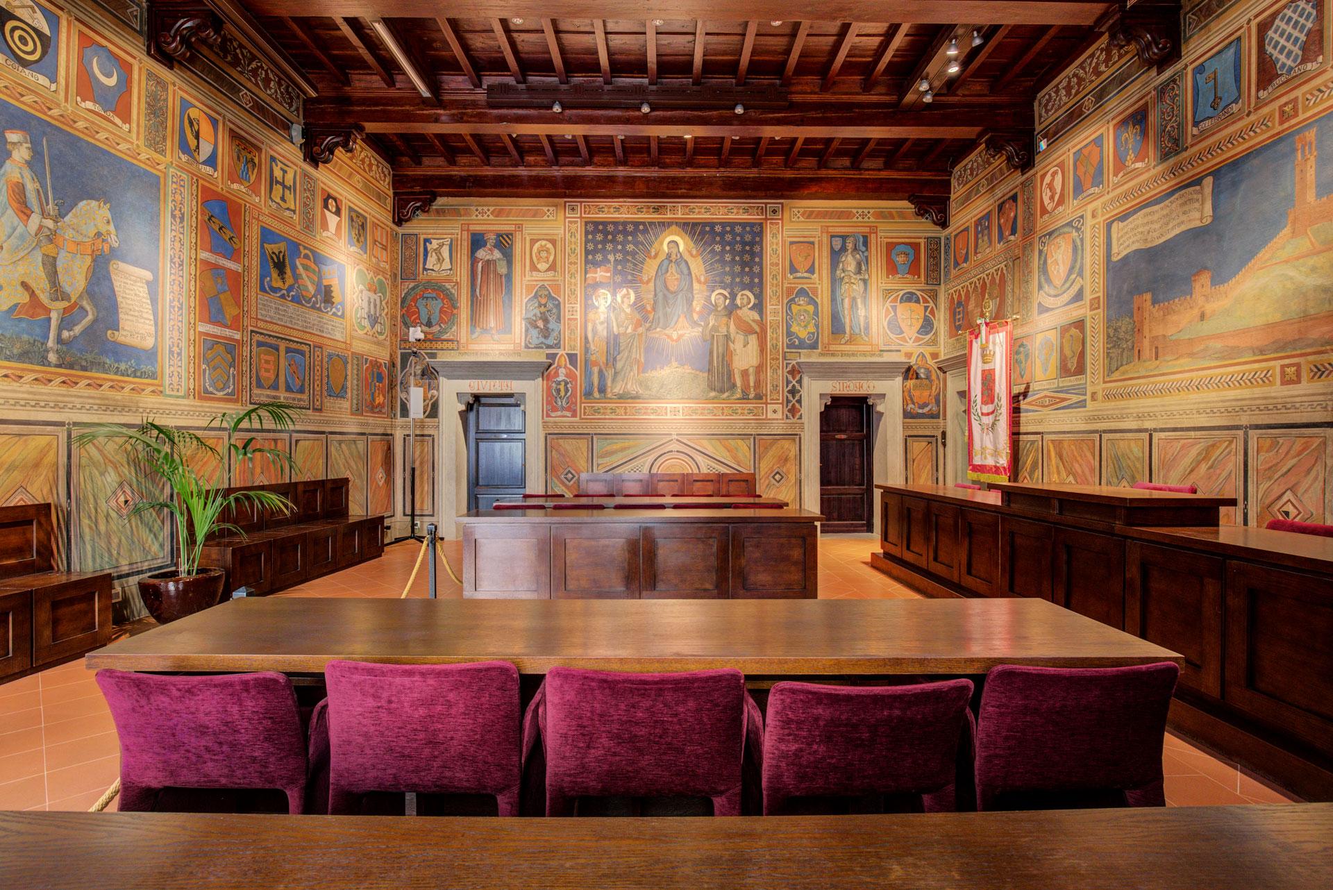 Palazzo Comunale and Oratorio del Loretino Museum