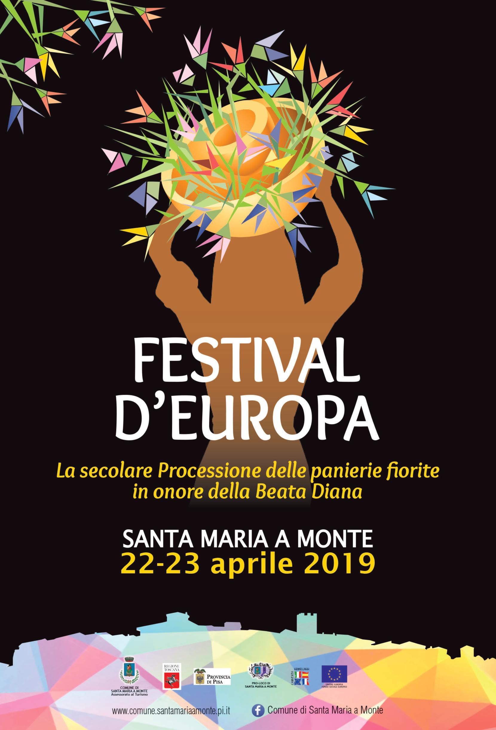 Festival d'Europa 2019 - Lunedì 22 e Martedì 23 Aprile